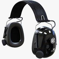 peltor tactical xp headset 3D model