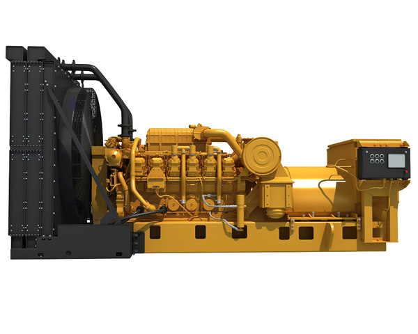 3D drilling power generator engine model