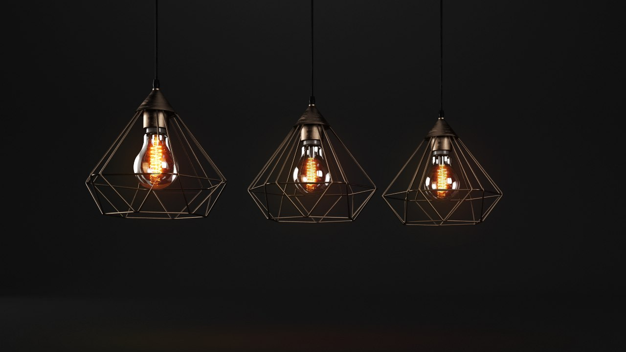 vintage lamp model