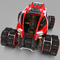 multi-purpose all-terrain vehicle 3D model