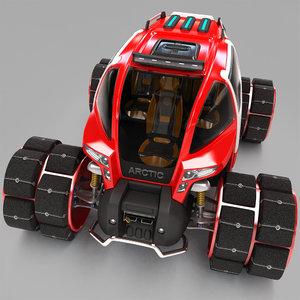 multi-purpose all-terrain vehicle 3D model