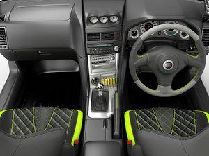 3D interior sports car model