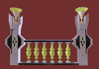 3D model - decorative palaces