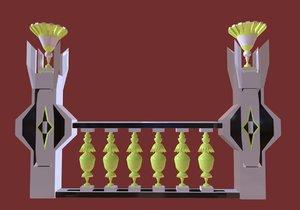 3D model - decorative palaces