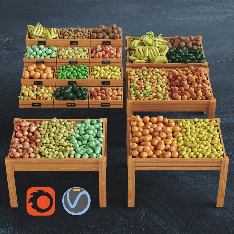 fruits shop model