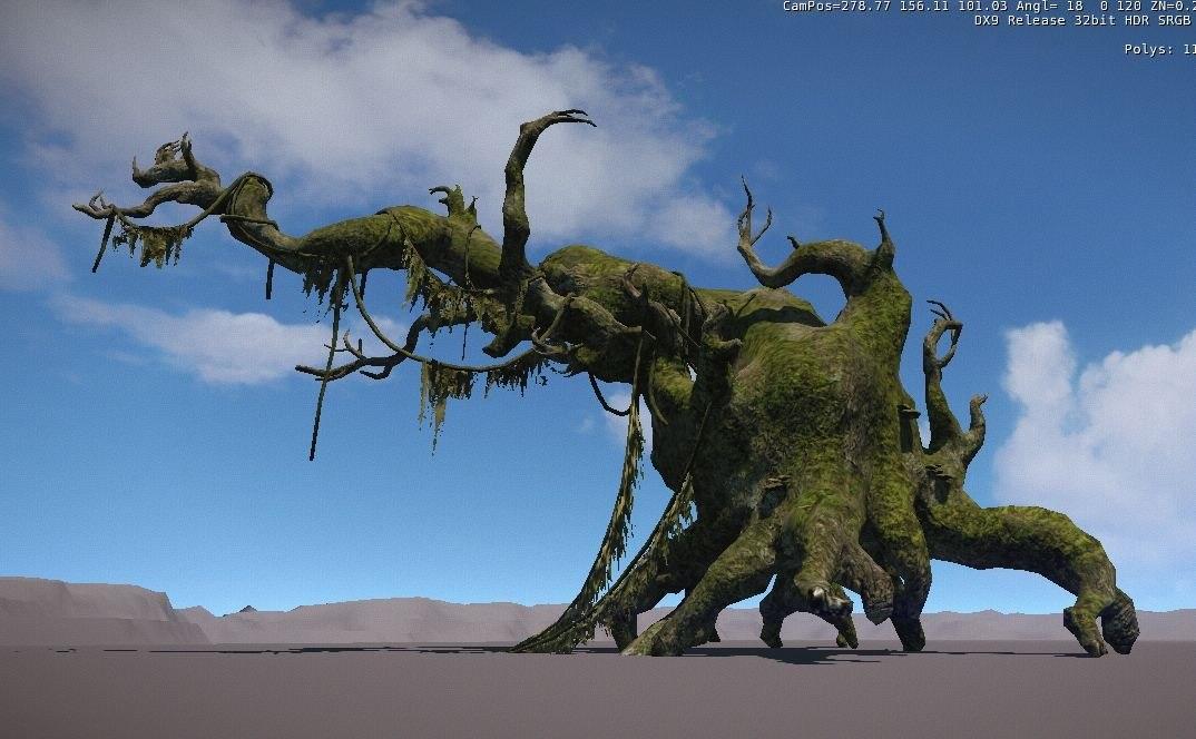 plant conifer 3D model