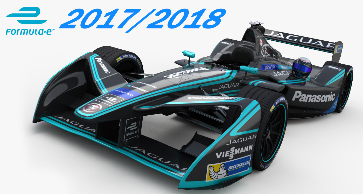 formula panasonic racing 3D model