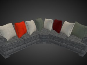 sofa archive 3D model