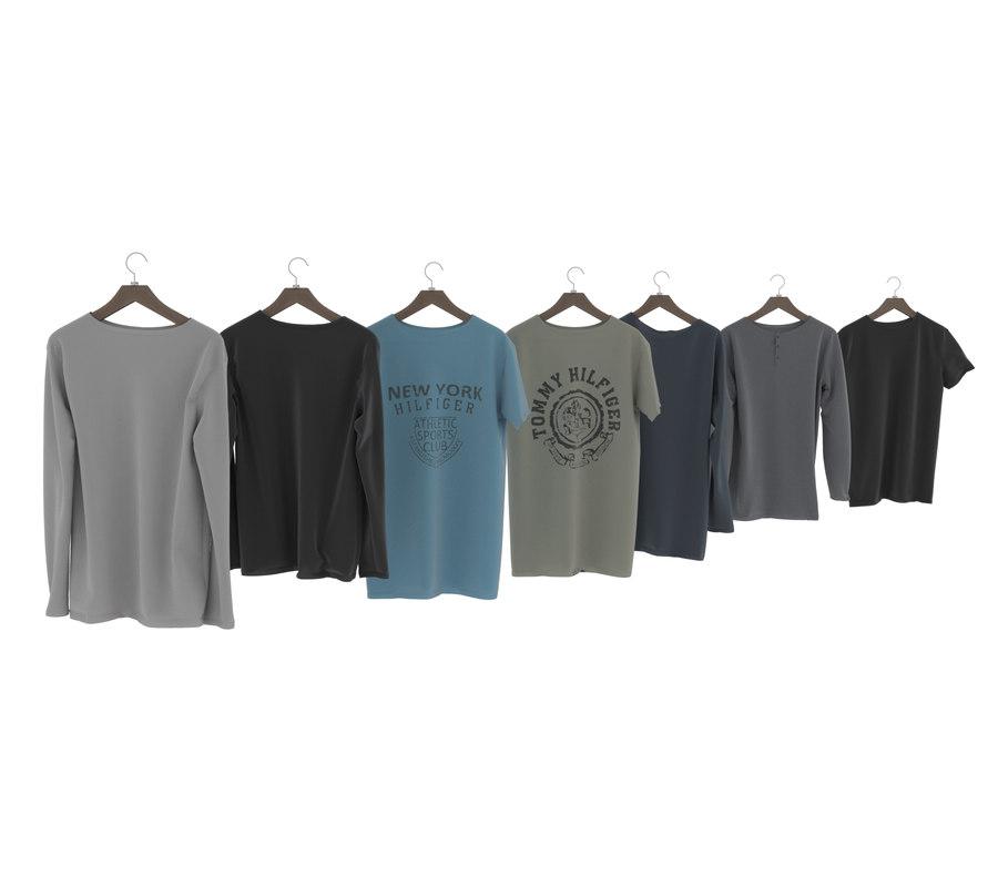 3D hanger shirt