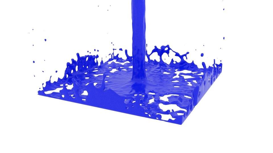 3D sphere flow splasher model