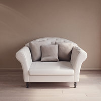 3D model custom classic armchair
