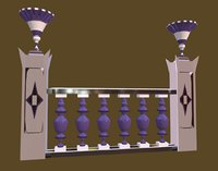 - decorative palaces 3D model