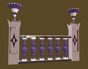 - decorative palaces 3D model