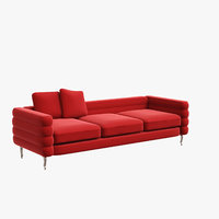 3D moooi boutique botero sofa