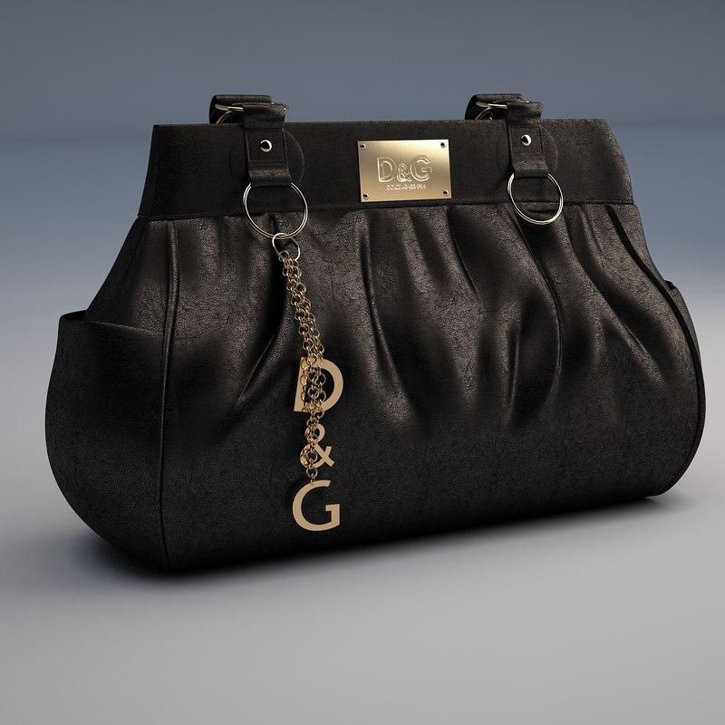 dolce gabbana handbag 3D