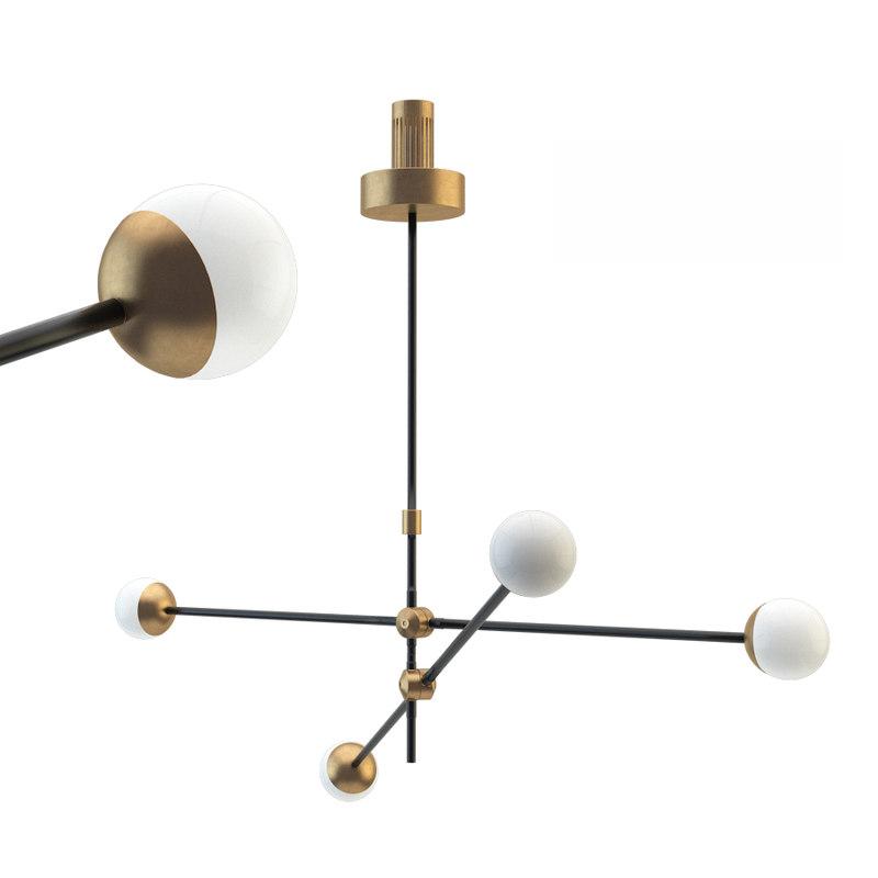 intueri light si-4 chandelier 3D