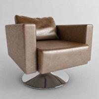 lounge chair ligne roset 3D model