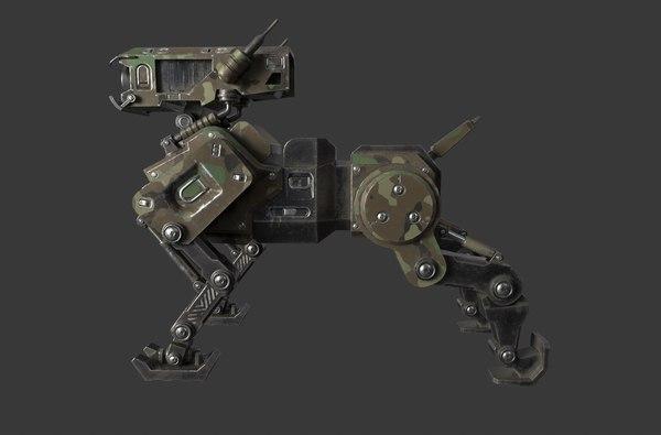 mech dog 3D