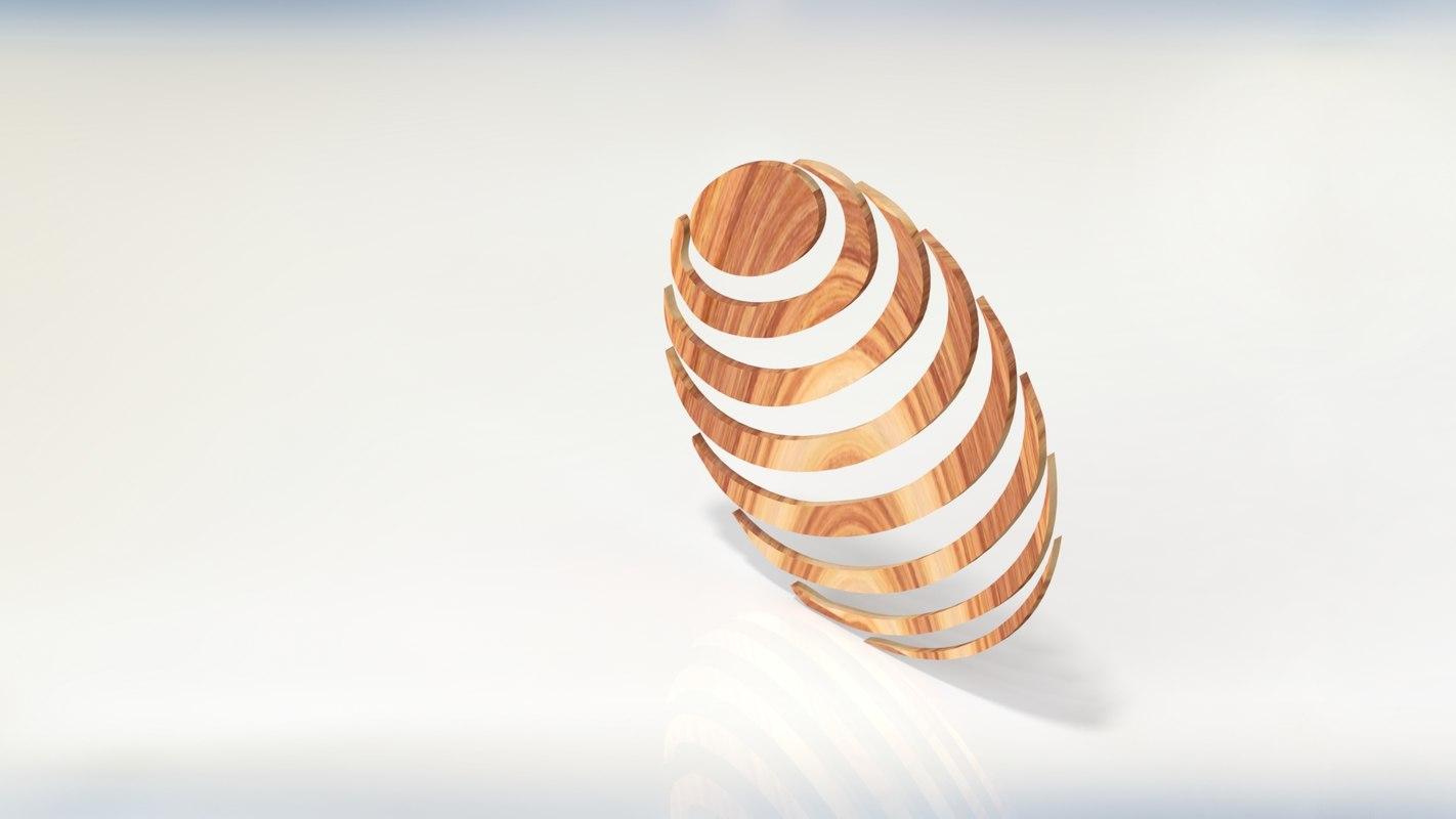 3D modeled decor model