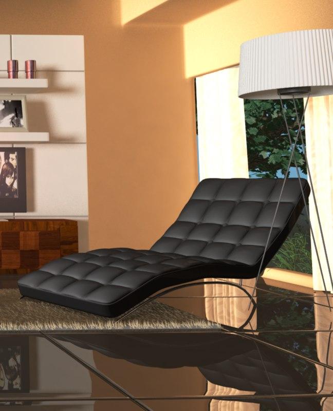 luxury chair lamp model