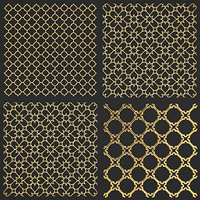 golden lattice model