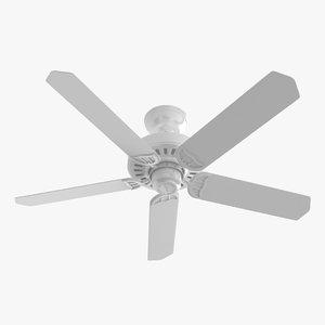 3D ceiling fan - hanter