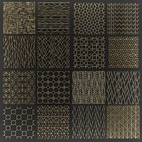 golden lattice 3D