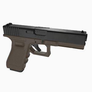 pbr pistol glock 17 model