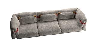 moroso belt sofa 3D