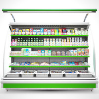 3D refrigerated showcase products