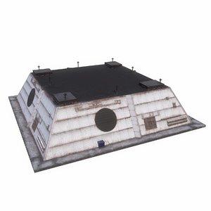 3D radar space model