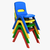 3D model nursery chair