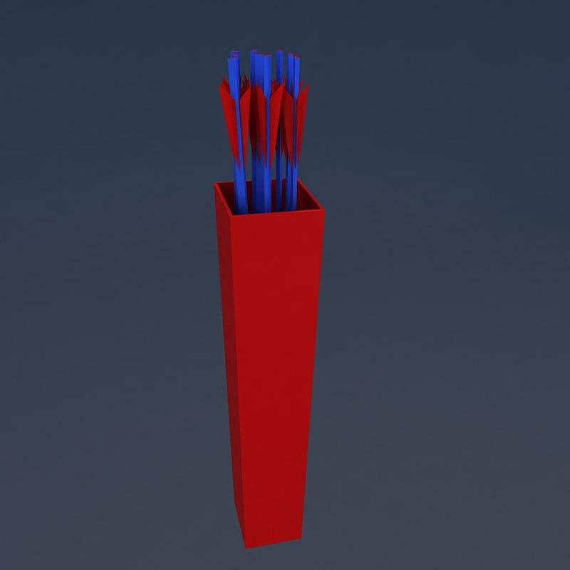 quiver arrow ar 3D model
