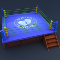 boxing ring model
