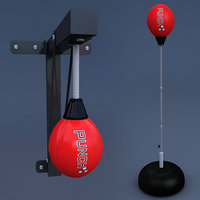 3D speed ball boxing punching