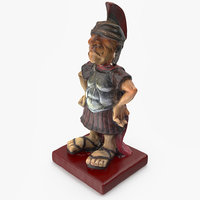 scanned souvenir statue 3D