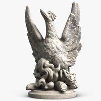 phoenix sculpture duck 3D