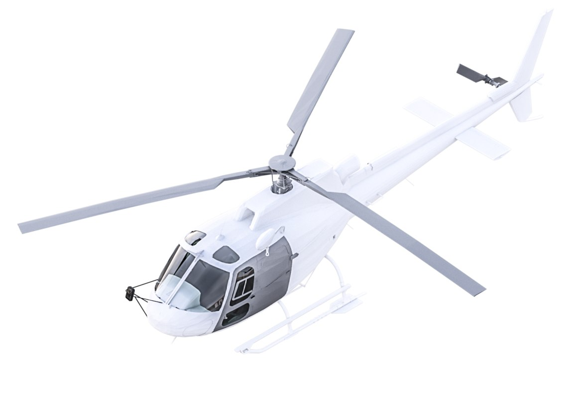 3D revit helicopter model