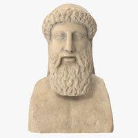 marble head herm model