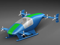 flying car prototype model