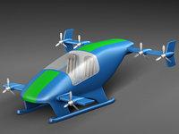 flying car prototype model