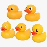 rubber duck 01 3D model