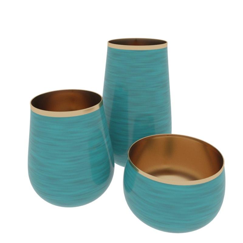 decorative vases model
