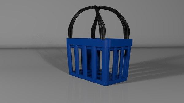 shopping baskets 3D