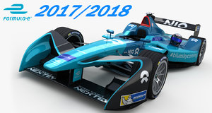 nio formula team 3D