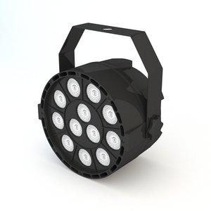headlight concert stage 3D model