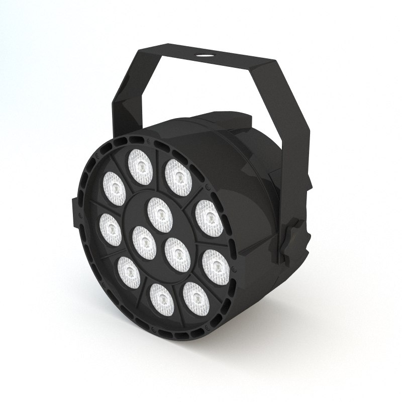 headlight concert stage 3D model