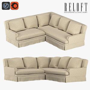 3D corner sofa 56270984 blsa