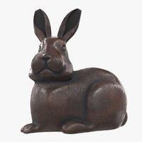 statue rabbit 3D model