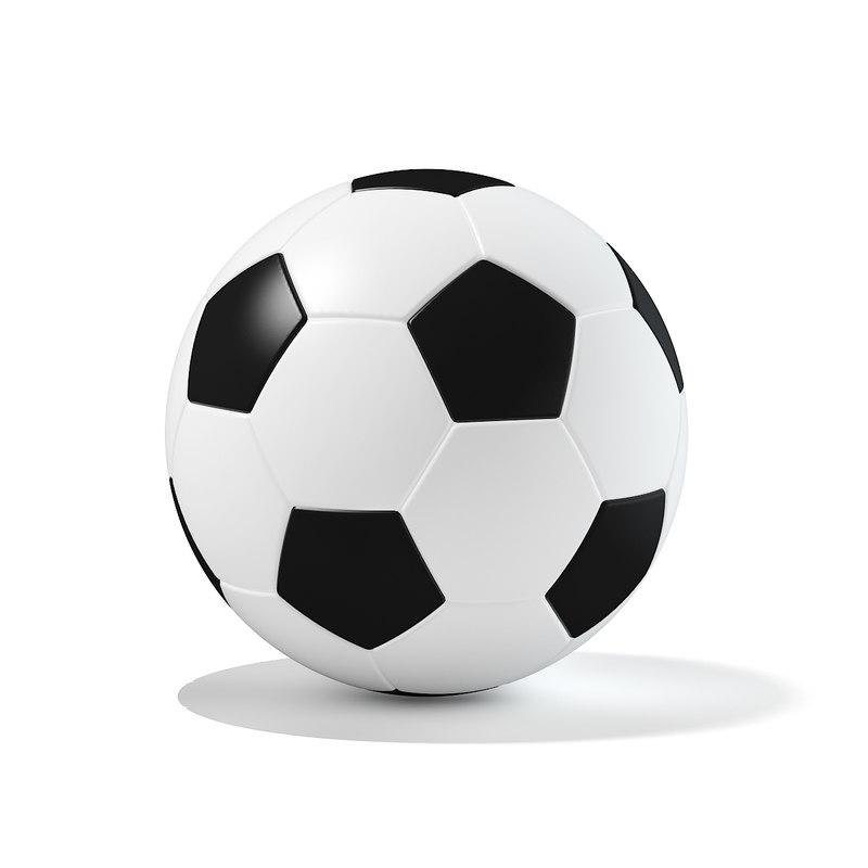 classic foot ball 3D model